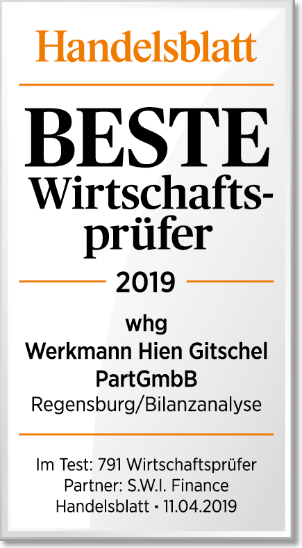 Handelsblatt: Beste Wirthschaftsprüfer 2019